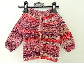 Detské oblečenie - Detský svetrík s hodvábom - 8142942_