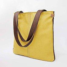 Kabelky - Abby (obojstranná žlto-hnedá) - 8143254_