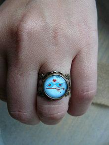 Prstene - Prsteň vtáčiky - 8142230_