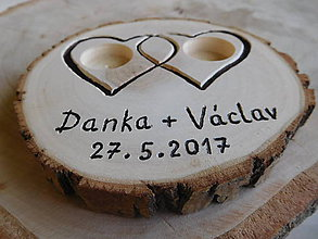 Prstene - vintage svadba/vankúšik pod svadobné prstene XVII - 8145948_