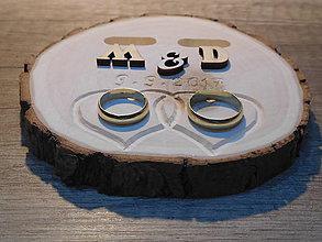 Prstene - vintage svadba/vankúšik pod svadobné prstene XVIII - 8146020_