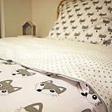 Úžitkový textil - Líškové obliečky - 8145099_