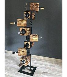 Dekorácie - Stojan na víno - STAIRS - 8142535_
