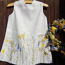 Detské oblečenie - Šaty pre Vílu Amálku ;) - 8144802_