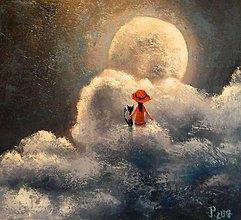 Obrazy - Magická noc - 8142232_