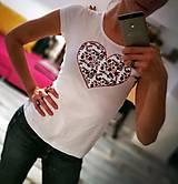 Tričká - Tričko s krátkym rukávom - Z lásky - 8142747_