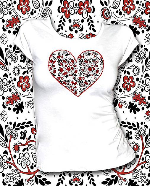 Tričko s krátkym rukávom - Z lásky