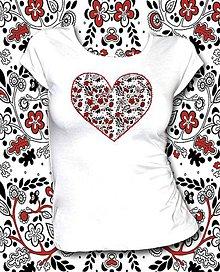 Tričká - Tričko s krátkym rukávom - Z lásky - 8142707_