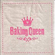 Papier - servítka Baking Queen - 8142792_