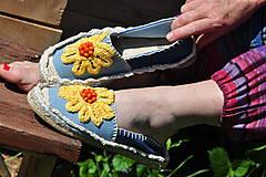 Obuv - letný kvet - 8144703_