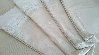 Úžitkový textil - Vrecko na chlieb z domáceho ľanu - 8146321_