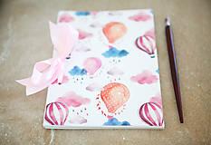 Papiernictvo - Balónový zápisník - 8148220_