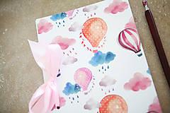 Papiernictvo - Balónový zápisník - 8148222_