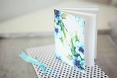 Papiernictvo - Sada zápisníkov - modrá - 8148274_