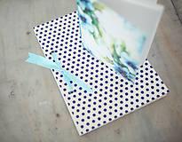 Papiernictvo - Sada zápisníkov - modrá - 8148275_