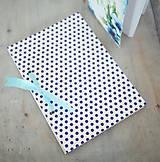Papiernictvo - Sada zápisníkov - modrá - 8148278_