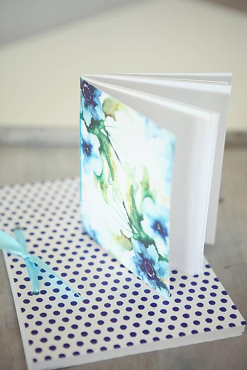 Sada zápisníkov - modrá
