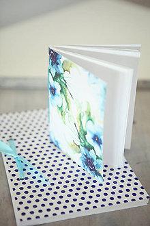 Papiernictvo - Sada zápisníkov - modrá - 8148276_