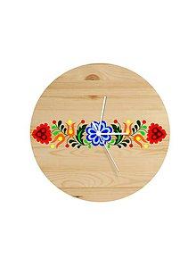 Hodiny - Na dreve maľované • hodiny - 8147583_