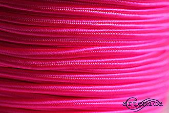 Galantéria - sutaška neon pink N054 - 8148599_