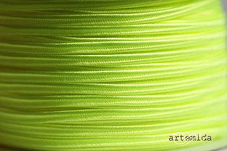 Galantéria - sutaška neon yellow N056 - 8148606_