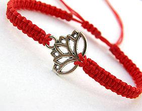Náramky - fire lotos shamballa - 8148875_
