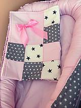 Textil - Set hniezdo + deka - 8149328_
