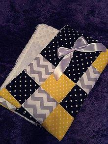 Textil - Detská deka jarné pohladenie - 8148675_