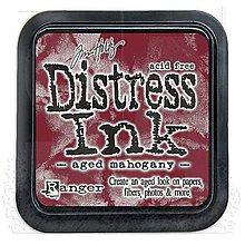 Farby-laky - Distress Ink - Aged Mahogany - 8146757_