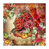 - ruže a vtáčik - 8146497_