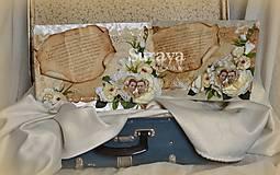 """Nezaradené - Poďakovanie rodičom """"vintage"""" - 8149517_"""