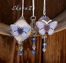 """Dekorácie - """"Motýle"""" formičkové ozdoby - 8148908_"""