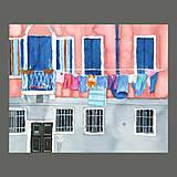 Obrazy - Velké prádlo - originál, akvarel - 8146812_