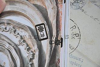 Iný materiál - spinka, sponka, oznacovac - mlyn - 8152680_