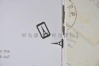 Iný materiál - spinka, sponka, oznacovac - eiffelova veza - 8152749_