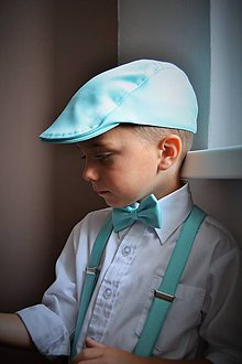Detské súpravy - Bekovka, motýlik, traky - 8150109_