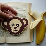 Opica do knižky...