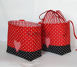 Detské tašky - Košík / taška na bicykel - BikeBag Jahodový - 8149786_