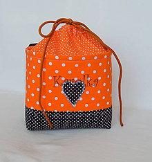 Detské tašky - Košík / taška na bicykel - BikeBag Pomaranč - 8150181_