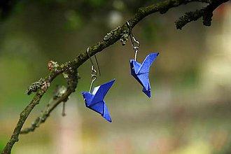 Náušnice - Nebeské holubičky - 8152936_