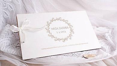 Papiernictvo - Svadobný album biely - 8151580_