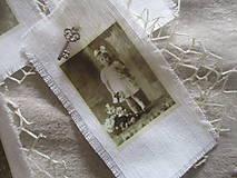 Dekorácie - Textilné visačky Vintage - 8151160_