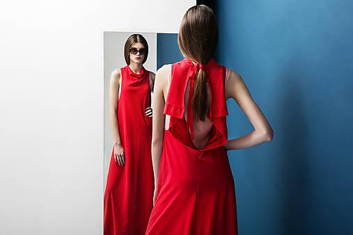 Šaty Reddress-long   DesignDictat - SAShE.sk - Handmade Šaty f0c165ed48