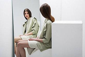 Mikiny - Bolero Light green - zlevněno o 30 %!!! - 8151274_