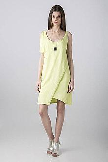 Šaty - Šaty Asymmetry zlevněno o 30% - 8151544_