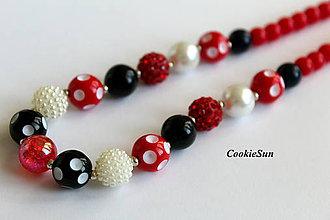 """Detské doplnky - Detský náhrdelník """"Dots"""" - 8152586_"""