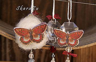 """Dekorácie - """"Motýle"""" formičkové ozdoby - 8149610_"""