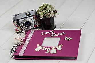 Papiernictvo - Detský fotoalbum pre dievčatko - 8150653_