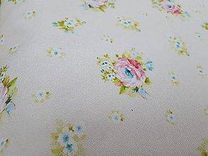 Textil - látka malé kvety - 8150316_