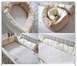 Textil - Univerzálny polohovateľný dlhý valec pre bábätká 18x180cm, obojstranný, antialergický - 8153399_